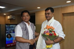 Meghalaya CM Conrad Sangma meets Union Ministers in Delhi 4