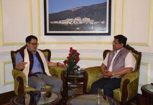 Meghalaya CM Conrad Sangma meets Union Ministers in Delhi 3