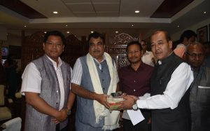 Meghalaya CM Conrad Sangma meets Union Ministers in Delhi 2
