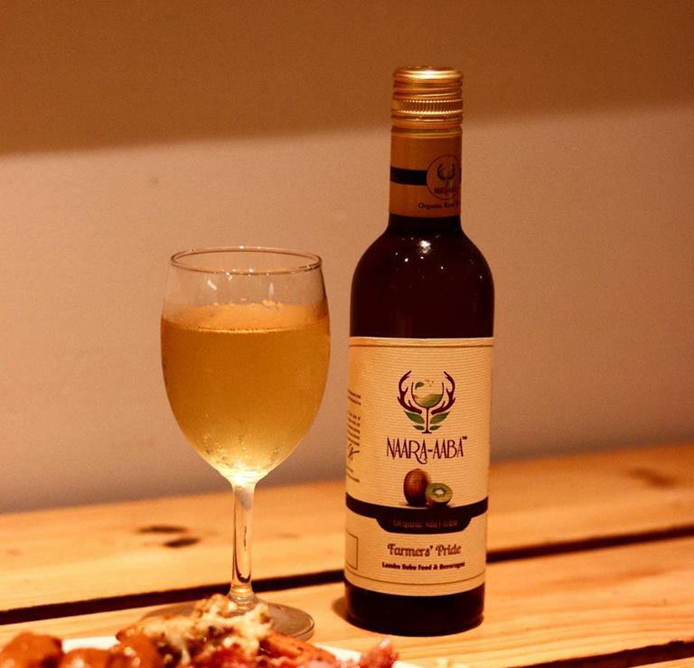 Indias First Organic Kiwi Wine From Arunachal Launched