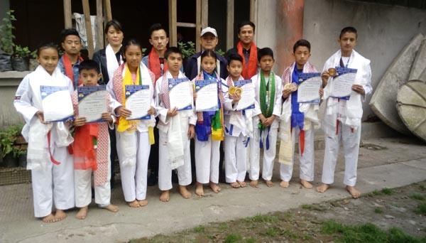 Sikkim Amateur Taekwondo Association team win medals at Junior National Kyorugi and Poomsae championships 1