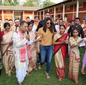Priyanka Chopra shows off her Bihu dancing skills in Jorhat 2