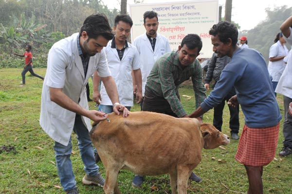 Veterinary Science College at Khanapara conducts month-long PRA programme for students 1