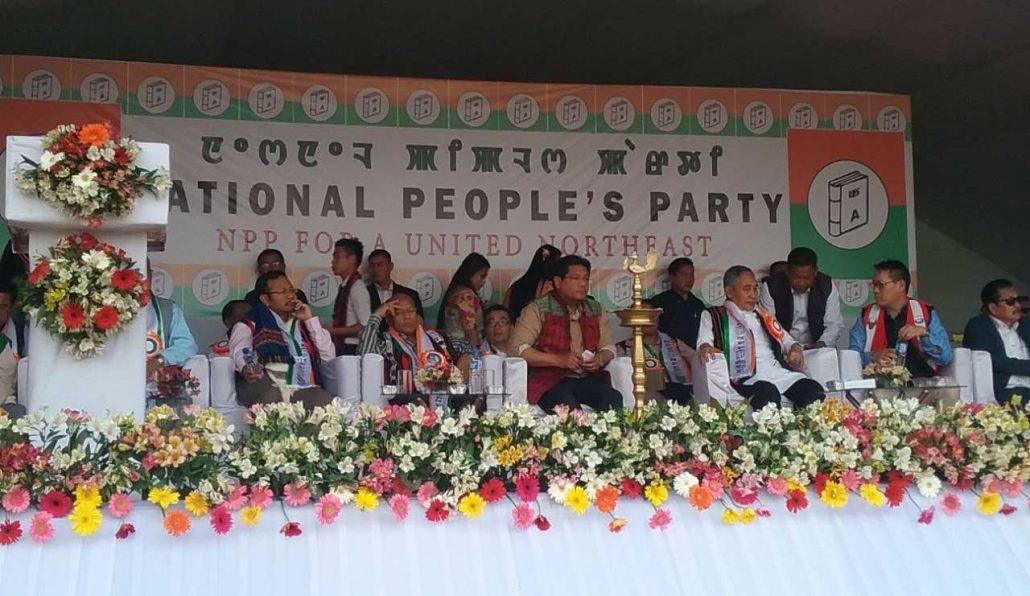 Meghalaya CM Conrad Sangma visits Imphal 1