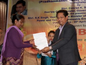Union Power Minister launches Saubhagya in Meghalaya 2