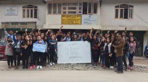Sikkim University students observe candle light vigil, seek justice for Asifa 1