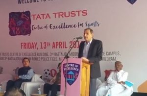 Centre of excellence for football launched in Aizawl, courtesy Tata Trusts 1