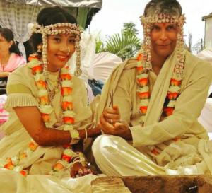 Milind Soman gets married to Assam's Ankita Konwar 1