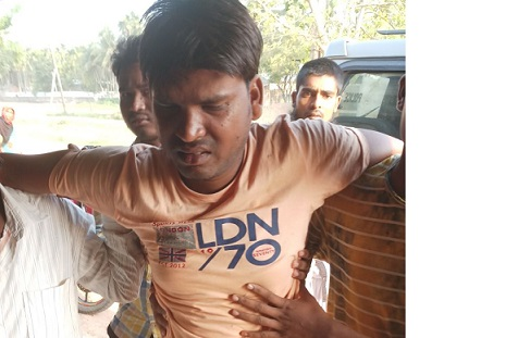 Abu Hanifa who has been rescued by Hojai Police. Northeast Now
