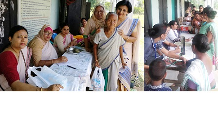 Assam: Women group's free medical camp benefits the