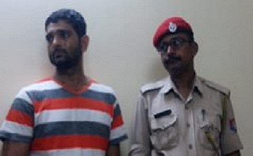 Assam Police arrest one Bikash Toporia in connection with smuggling of gold on May 21, 2018. Northeast Now