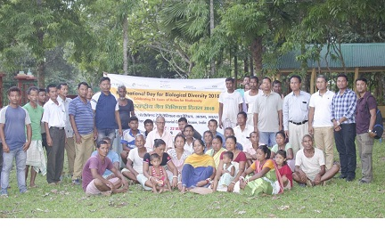The participants at the nature camp. Northeast Now