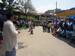 Assam: AGP stages protest, demands NCHAC polls on time 4