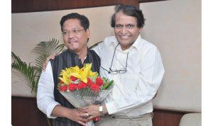 Meghalaya CM calls on Union Ministers Rathore, Prabhu 1
