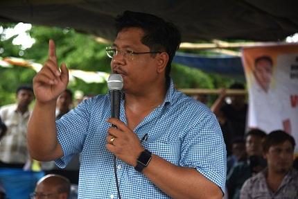 File Photo of Meghalaya Chief Minister Conrad Sangma. Photo: Northeast Now