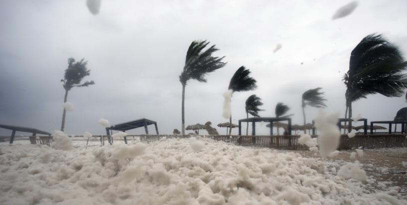 A view of Cyclone Mekunu that hit Oman. Picture Credit: Gulf News
