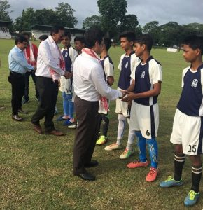 Inter-school soccer: St. Xavier's outsmart DPS by 5-0 at Assam's Duliajan 1