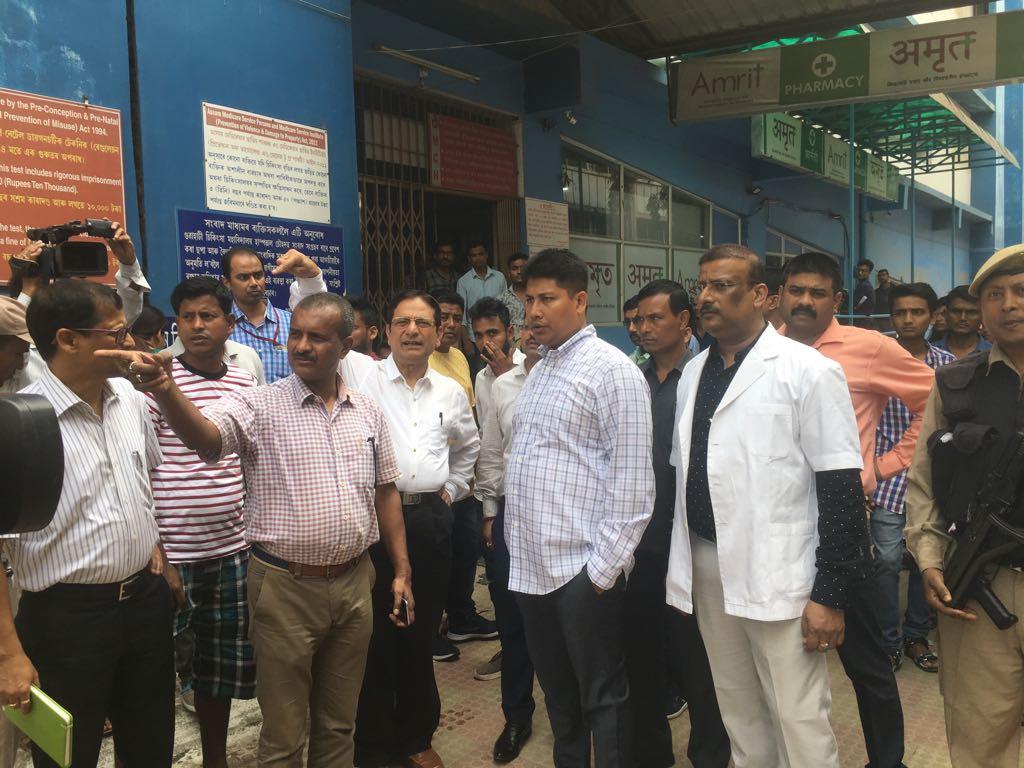 GMCH to have new MRI machine, 50-bed ICU soon: Assam Minister Pijush 1