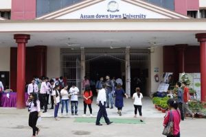 Placement drive of Assam down town University generates huge response 1