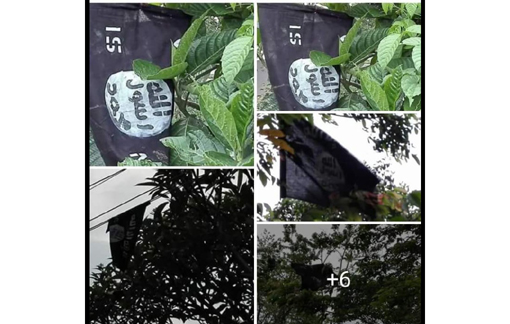 The recovered flags. Northeast Now