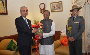 Japanese Ambassador in Shillong, meets Meghalaya Guv 1