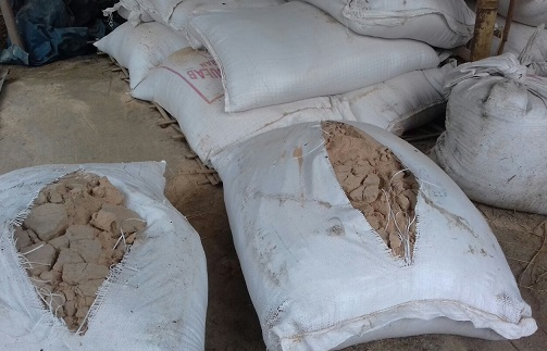 A view of fodder bags. Northeast Now