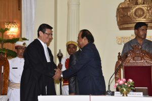 Prof Jagdish Mukhi assumes charge as Manipur Governor 1