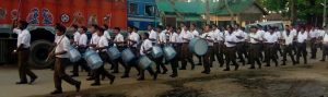 RSS activists flex muscles, exhibit physical prowess in Hojai 1