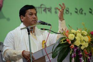 Assam CM Sonowal honoured with Swargadeo Sarbananda Singha Award 3