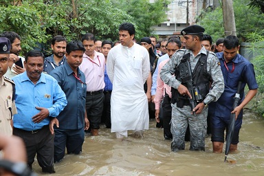 Tripura-CM-flood