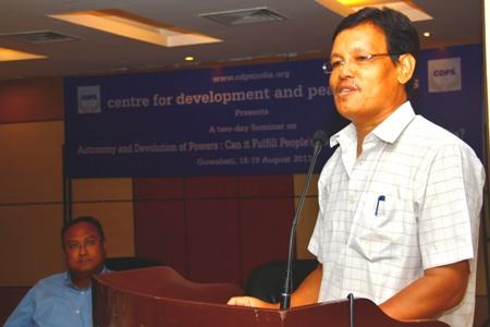 President of UPPL, UG Brahma. Photo courtesy - CDPS