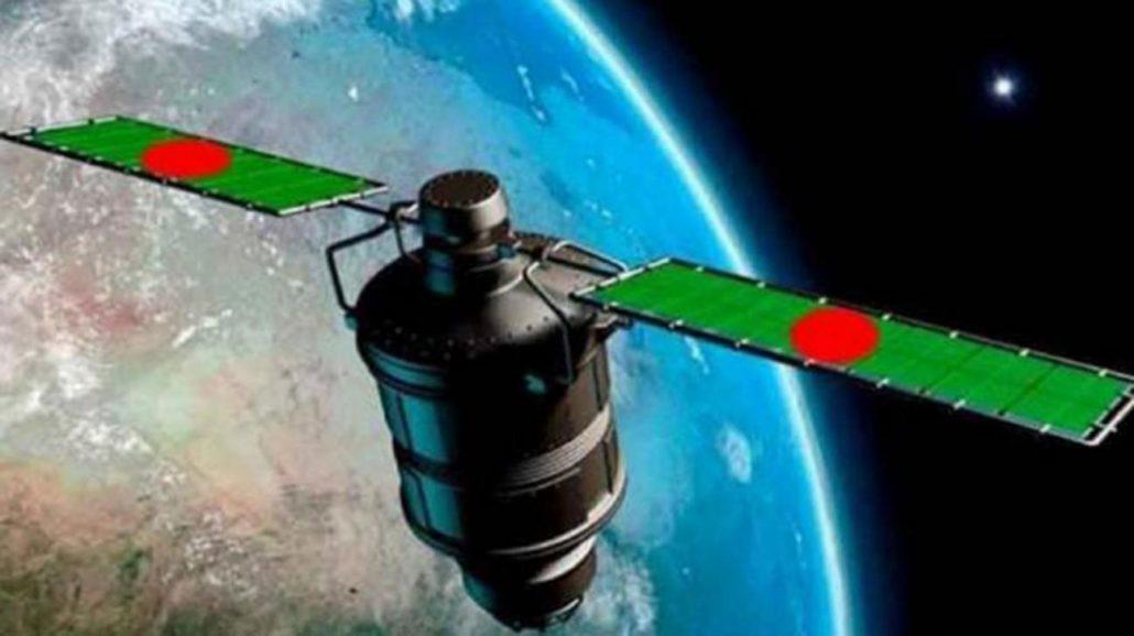 Animated image of Bangabandhu-1 satellite. Source - Internet