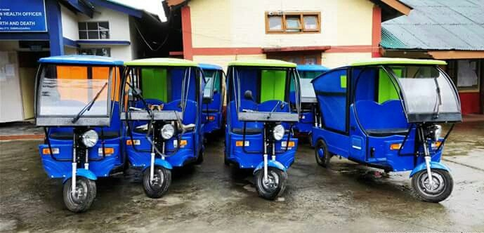 25 e-rickshaws will collect household garbage in Dibrugarh from June 1. Photo: Avik Chakraborty