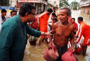 Agartala reeling under flood, thousands rendered homeless 2