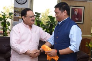 Khandu for early operationalization of State's first medical college 1