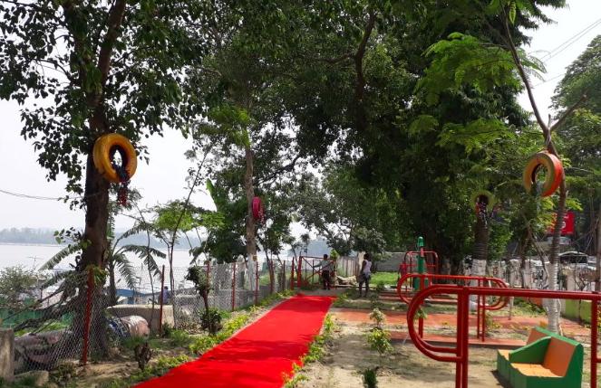 open air gym, guwahati