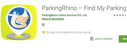 Parking Rhino app