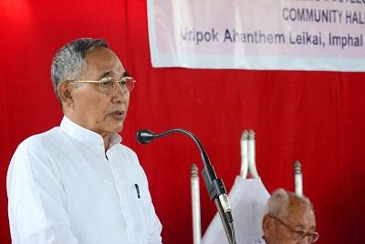 Manipur Dy CM Y Joykumar Singh.