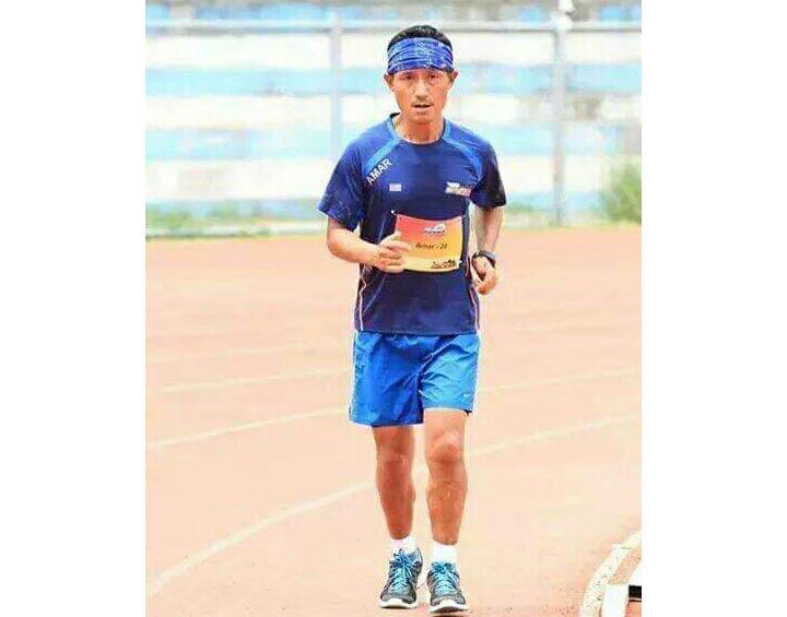 Marathon Man of Sikkim, Amar Subba Marathon Man of Sikkim, Amar Subba