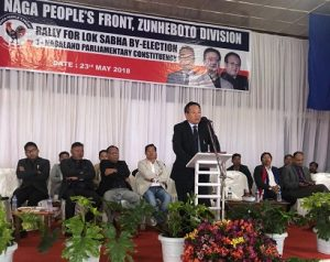 Nagaland: Electioneering for LS by-poll to end on Saturday 1
