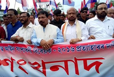AGP protest