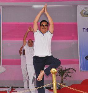 Arunachal's bigwigs join International Day of Yoga celebrations 2