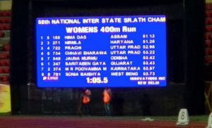 Assam's Hima Das wins another gold at national athletics championship 1
