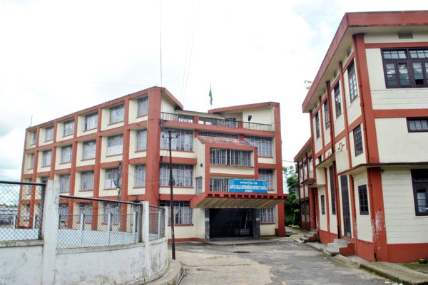 Jaiñtia Hills Autonomous District Council Office. Picture credit: jhadc.nic.in