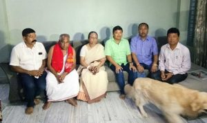 Ronghang-led KAAC team meets Abhijeet, Nilotpal's parents in Guwahati 1