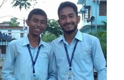 Mangaldai College debate team