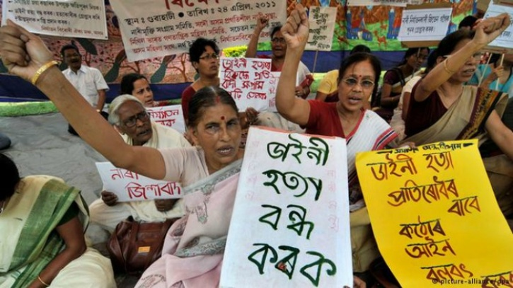 File photo of protest against witch hunting. Photo source - Indiatimes
