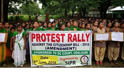 Protest against Citizenship Bill