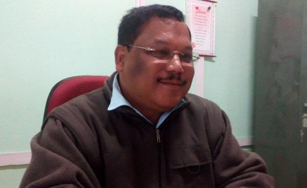 Congress legislator from Ranikor in Meghalaya Martin M Danggo Picture credit: Eastern Panorama