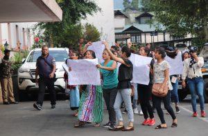 Shillong protest 1